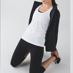 Lululemon Run: Top Speed Crop Leggings in black